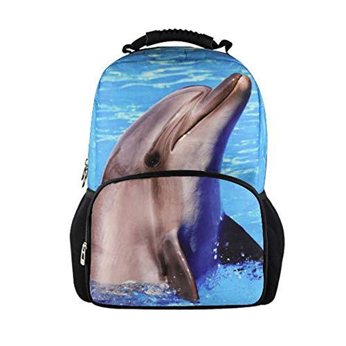 Popular Animals Kids School Backpack Bookbag Travel Hiking Daypack