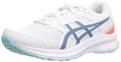 ASICS Jolt 3, Zapatillas de Running Mujer, White Grey Floss, 40.5 EU