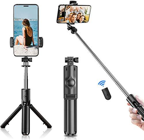 Monzeen Selfie Stick Tripod Bluetooth,Extendable...