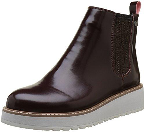 Pepe Jeans London Damen RAMSY Chelsea Boots, Rot (Burgundy), 39 EU