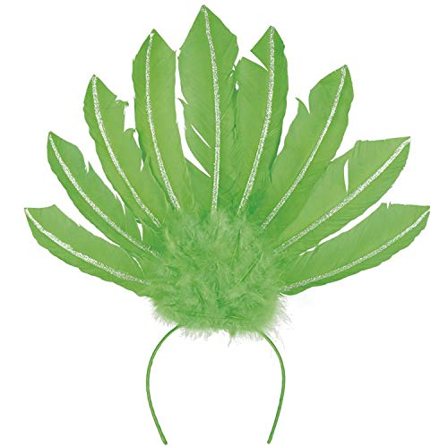 Boland 52104 Samba Serre-tête Vert Fluo