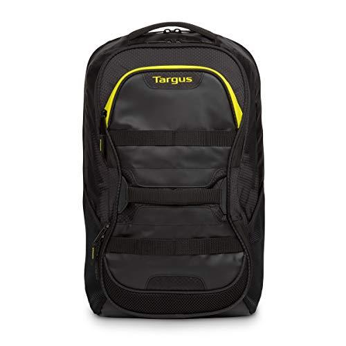 "Targus TSB944EU Mochila Work+Play para Fitness y portátiles de hasta 15,6"" - Negro/Amarillo"