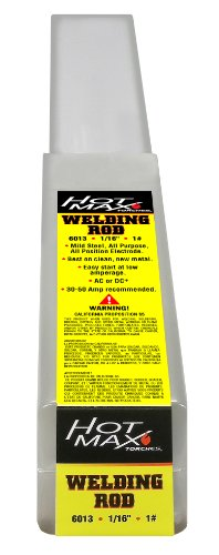 Hot Max 22075 1/16-Inch E6013 1# ARC Welding Electrodes
