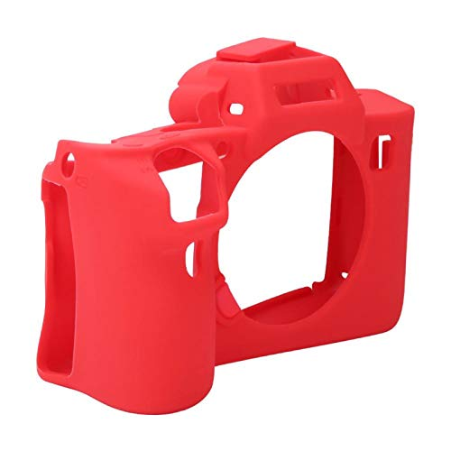 DAUERHAFT Estuche para cámara Resistente al Desgaste, para Protector de cámara So-NY(Red)