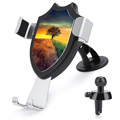Car Phone Mount Air Vent Holder Hands Free Cell Phone Holder , I Wonder Compatible with iPhone 12/12 Pro/11 Pro Max/8 Plus and More 4.0 to 6.0-inch mobile phones
