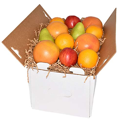 Gourmet Fruit Basket with Oranges Pears Apples and Grapefruit 20Lbs