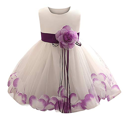 LuckyGirls Dress Princess Little Girl Elegant Carnival Dress Bride Kids Girls Dresses Dance Birthday Casual Sleeveless Dresses