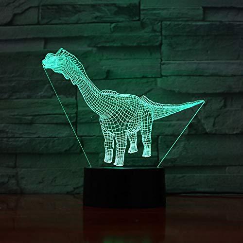 Jurassic World Dinosaur 3D Lamp Office Decoration Present for Teacher Present Colorful Led Night Light Lamp FFFZDCKAY