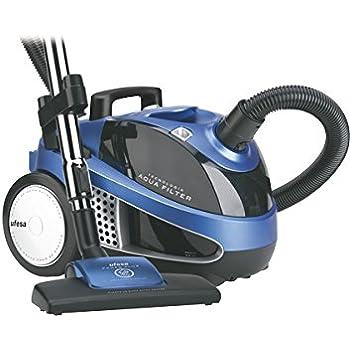 Ufesa AP8110 - Aspirador Con Filtro Agua (220-240 V, 50 Hz, 10 A, 1600 W, 1600 W, 315 x 295 x 425 mm, 8200 g), color negro y azul: Amazon.es: Hogar