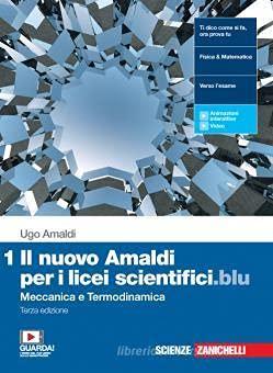 Kit libro scolastico 9788808938060 NUOVO AMALDI PER I LICEI SCIENTIFICI.BLU (IL) 3ED. - VOL. 1 (LDM) + 1 copertina trasparente + n.1 maxi quaderno (rig.1R/C) + n.1 maxi quaderno (5mm)
