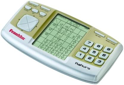 Franklin Electronics 100% quality warranty! Daily bargain sale Kakuro Puzzle KUR-325
