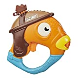 Nerf Super Soaker Fortnite Fishstick Water Blaster - Fortnite Fishstick Character Design - Easy-to-Carry Micro Size - for Kids, Youth, Adults