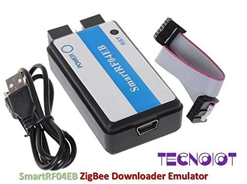 TECNOIOT SmartRF04EB CC1110 CC2530 ZigBee Downloader Emulator USB ZigBee MCU M100 Module