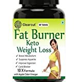 Clearcut Fat Burner, KETO Weight loss, Garcinia Combogia + Apple cidar vinegar +