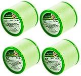 4 bobinas de hilo de algodón orgánico | hilo de enhebrar cejas de algodón orgánico | Hilos de algodón antibacteriano para depilación facial Preferences