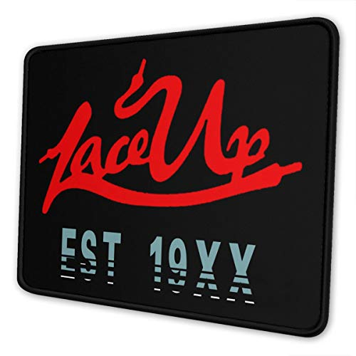 Gun-Kelly MGK Lace-Up-Est-19xx Mouse Pad Gaming Mouse Pad Non Slip Rubber Base with Stitched Edge Computer Pc Mousepad for Home Office