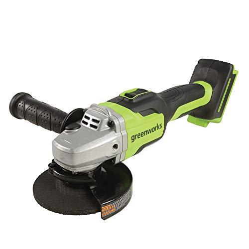 Greenworks AG24L00 Winkelschleifer, nur Werkzeug, Grün