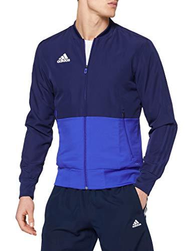 adidas Condivo 18 Presentation Jacket Veste Homme, Dark Blue/Bold Blue/White, FR : S (Taille Fabricant : S)