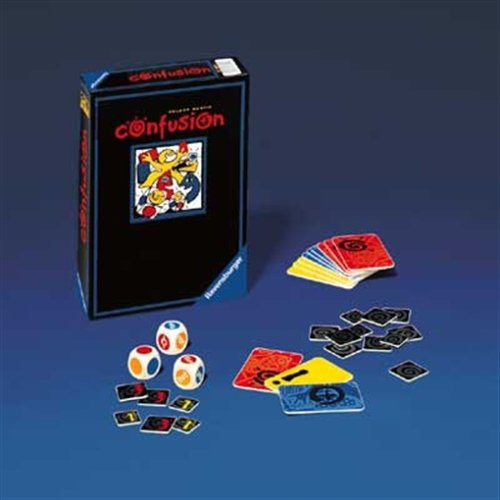 Ravensburger - Confusion, Reaktionsspiel (Kartenspiel)