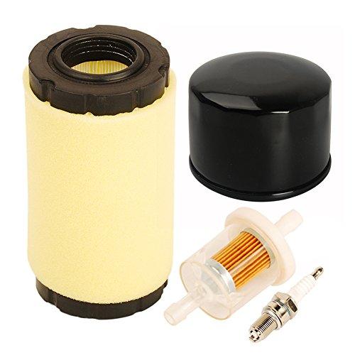 ouyfilters793569793685Filtro de aire/Pre filtro 696854Filtro de aceite con 493629Kit de filtro de combustible para Briggs and Stratton intek serie 20–21HP bruto Tractor cortacésped