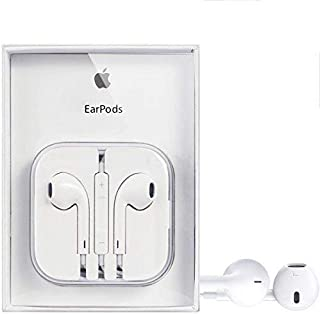 Apple In-Ear EarPods MD827ZM/B 3.5mm with Remote and Mic For iphone 6 plus/iphone 6 / iphone 5 - White