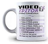 Video Editor - Naming Convention Coffee Mug