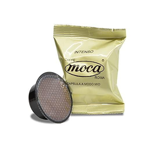Caffè Moca Capsule Compatibili Lavazza A Modo Mio Caffè Intenso - 100 Capsule (100% Arabica)
