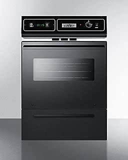 Summit TTM7212KW Kitchen Cooking Range, Black