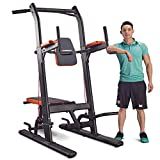 HARISON Multifunction Power Tower Pull Up Dip Station with Bench Home Gym Exercise Equipment, Dip Stands, Pull Up Bars, Push Up Bars, VKR, Chin Ups for Strength Training Workout