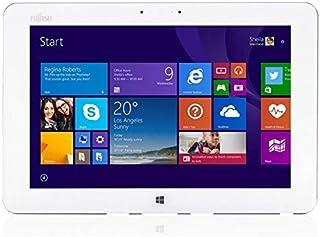 富士通 Arrows Tab Q584 10.1型 2K解像度(2560x1600) RAM:4GB SSD:128GB タッチ Wi-Fi Bluetooth タッチペン付き タブレット Windows10 Office付(整備済み品)