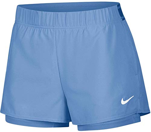 Nike Flex Pantalones cortos, Medium, Royal Pulse/Blanco