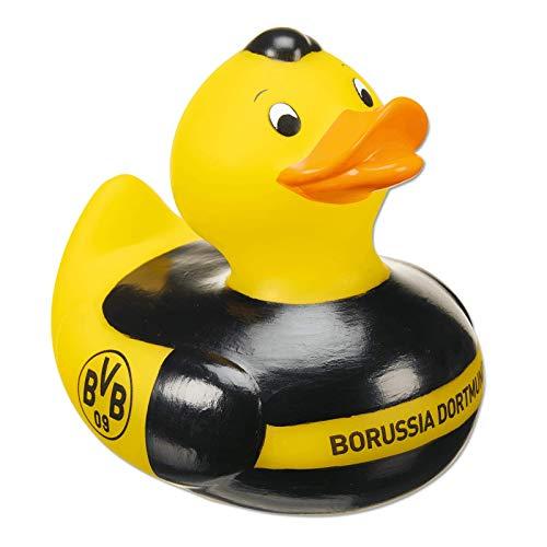 Borussia Dortmund Unisex Jugend BVB-Badeente Shirt, schwarz/Gelb, one Size