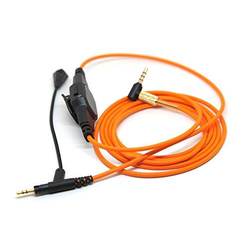 Lovinstar Boom - Cable de volumen para micrófono Sennheiser Momentum para auriculares de diadema para Skype PS4 Xbox One