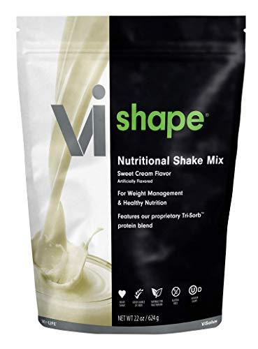 ViSalus Vi Shape Nutritional Shake Mix Sweet Cream Flavor | 22oz (1...