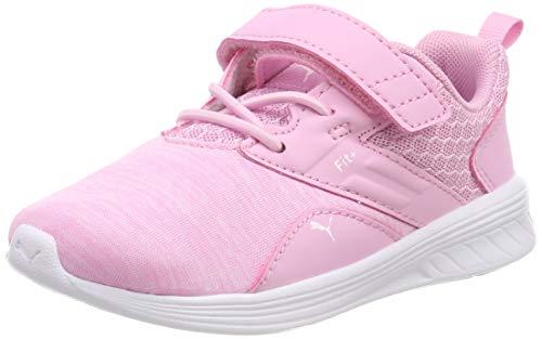 Puma Unisex-Kinder Comet V Inf Sneaker, Pink (Pale Pink White), 26 EU