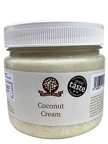 Nutural World - Crema de Coco (1kg) Galardonado al Mejor Sabor