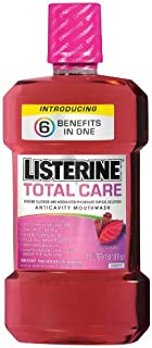 Listerine Total Care Anticavity Mouthwash Cinnamint, 1-Count (Pack of 3)