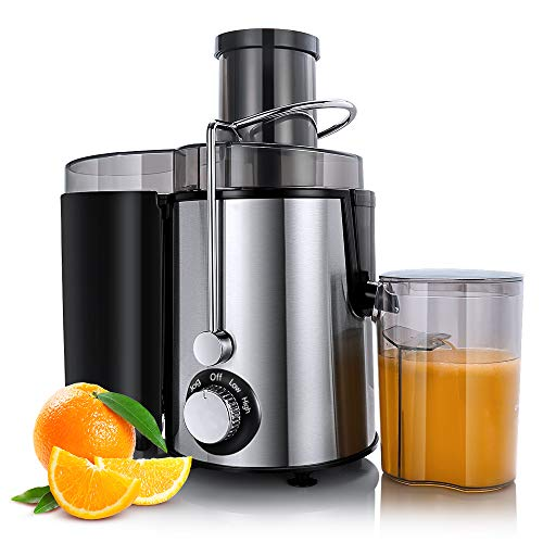 Find Discount Sagnart Centrifugal Juicer Machines, Juice Extractor for Whole Fruit and Vegetables, B...