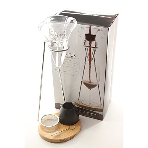 Decantus - Sistema de 6 piezas para la aireación del vino,