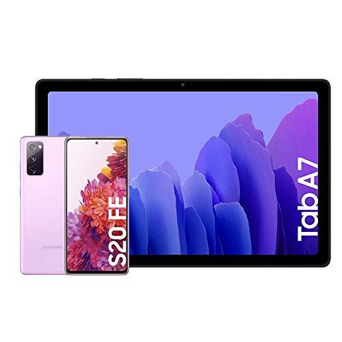 Samsung Galaxy S20 FE 5G - 256 GB, Color Lavanda [Versión española] + Samsung Galaxy Tab A 7 [Tablet de 10.4' FullHD]