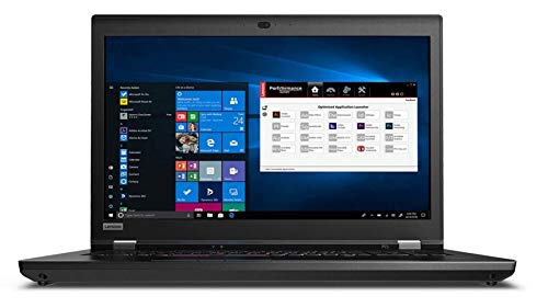 Lenovo ThinkPad P73 Home and Business Laptop (Intel i7-9750H 6-Core, 16GB RAM, 1TB PCIe SSD + 2TB HDD, 17.3