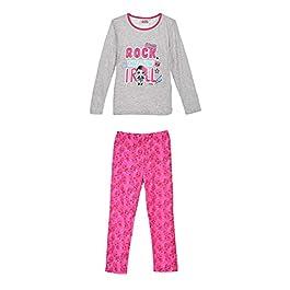 Disney Pyjama Fille poupée LOL (Gris) /6/7/8/9/10 Ans