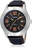 Pulsar Reloj Analog-Digital para Hombre de Automatic con Correa en Metal ps9005x1