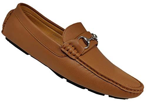 S & B Footwear , Herren Mokkasins, Braun - Camel - 072 - Größe: 38 EU