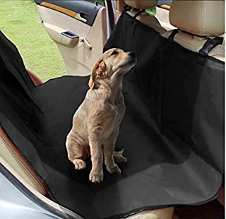Rubik Waterproof Dog Seat Cover Car Seat Cover for Pets, Scratch Proof & Nonslip Backing & Hammock, Durable Pet Seat Cover...
