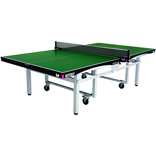 Discover Bargain Butterfly Centrefold 25 Table Tennis Table | Professional Ping Pong Table | 25mm In...