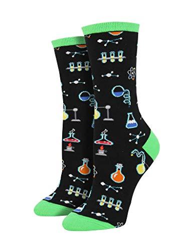 Socksmith All The Solutions Black 9-11 (Women's Shoe Sizes 5-10.5)