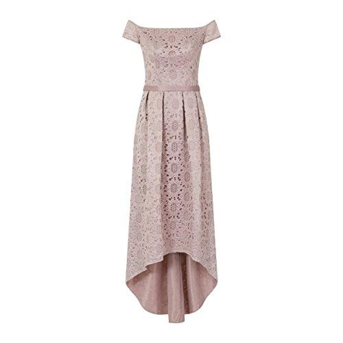 チチロンドン トップス ワンピース Lace Detail Dip Hem Dress lilac [並行輸入品]