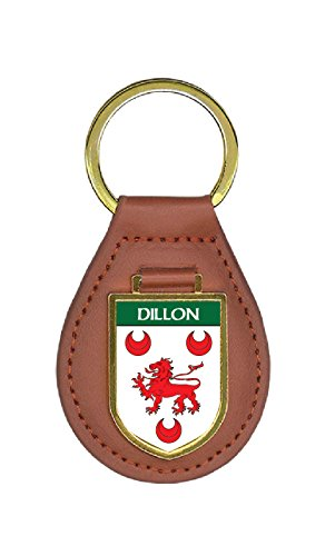 Dillon Family Crest Coat of Arms Lot of Total Key Chains