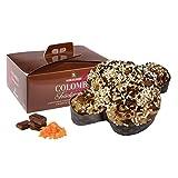 Rinaldini Colomba Pasquale | Paloma de Pascua | Chocolate Negro de Vietman y Naranja Confitada | 500 Gramos